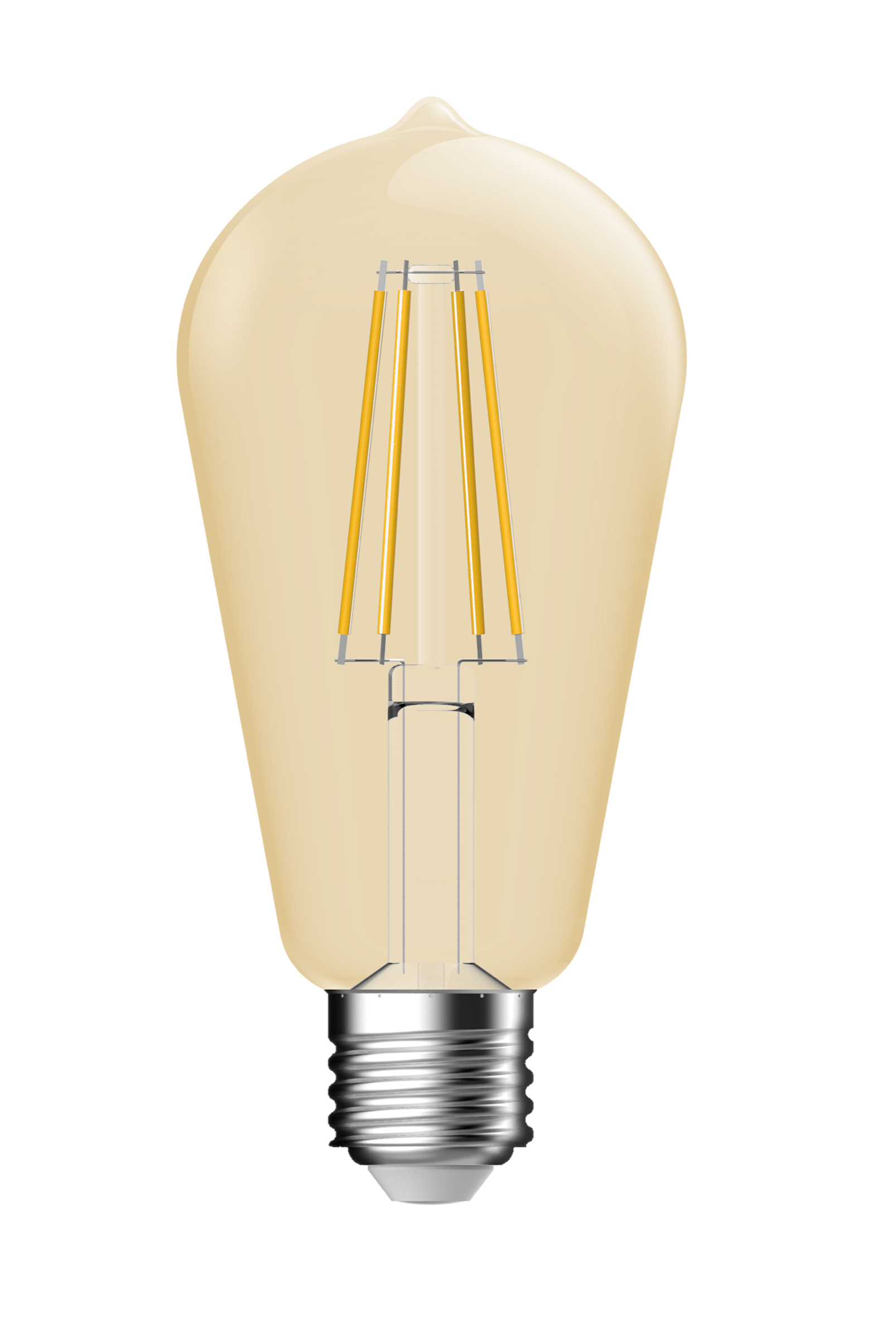 LAMPADINA A LED DECO ST64 DIMMERABILE 5,4W E27 2500K GOLD