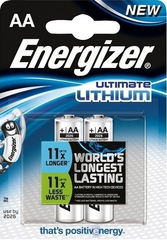 Batteria ultimate litio AA 1.5V L91