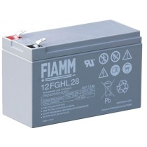 BATTERIA FIAMM RICARICABILE AL PIOMBO SERIE FGHL - HIGH RATE LONG LIFE 12V 7.2Ah