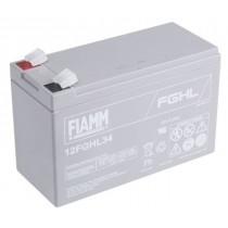 BATTERIA FIAMM RICARICABILE AL PIOMBO SERIE FGHL - HIGH RATE LONG LIFE 12V 9.0Ah