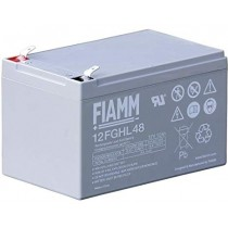 BATTERIA FIAMM RICARICABILE AL PIOMBO SERIE FGHL - HIGH RATE LONG LIFE 12V 12Ah