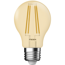 LAMPADINA A LED DECO A60 DIMMERABILE 5,4W E27 2500K GOLD