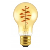LAMPADINA A LED DECO A60 DIMMERABILE 4,5W E27 2000K GOLD