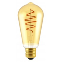 LAMPADINA A LED DECO ST64 DIMMERABILE 5W E27 2000K GOLD