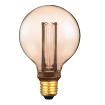 LAMPADINA A LED DECO G95 DIMMERABILE 2,3W E27 1800K GOLD