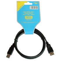 CAVO SPINA USB A/SPINA USB A NERO 1.5mt