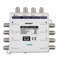 SPLITTER 4 INGRESSI 8 USCTE PER MULTISWITCH