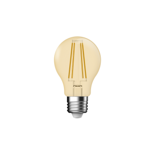 "LAMPADINA A LED DECO ""CLASSIC"" G45 DIMMERABILE 4,8W E27 2500K GOLD"