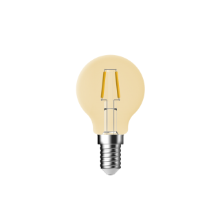 "LAMPADINA A LED DECO ""CLASSIC"" G45 DIMMERABILE 4,8W E14 2500K GOLD"